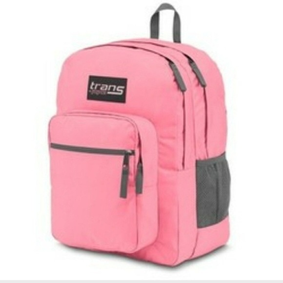 Trans Jansport Backpack Supermax Pink Pansy NWT